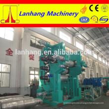 Máquina de calandragem de 4 rolos para produção ampla de produtos