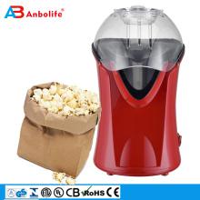 ANBO BEST TV-Partner CE ETL-Zertifikat Mikrowellen-Popcorn-Maschine Popcorn-Hersteller Heißluft-Popcorn-Popper mit FDA-Zulassung, kein Öl erforderlich