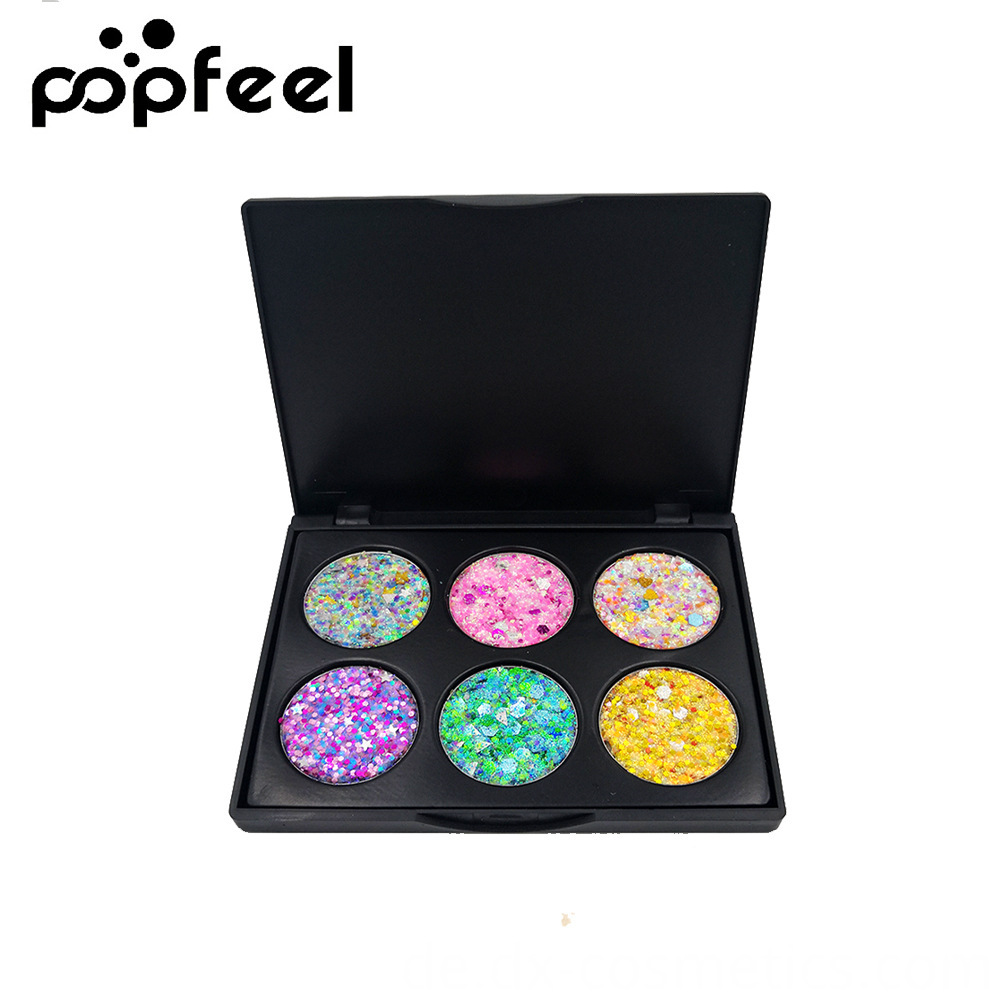 6 Colors Gligger Eye Shadow 7