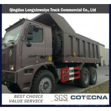 Camión volquete para uso minero Sinotruk HOWO 6X4 70ton