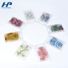 Petites boîtes en plastique transparentes d'emballage de boursouflure avec des couvercles