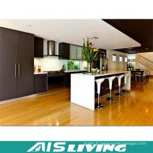 Armoires de cuisine en melamine Pantry Furniture (AIS-K198)