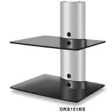 Double Layer DVD Glass Wall Mount