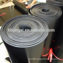 Black SBR Ribbed Rubber Sheet Roll