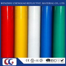 Película reflexiva de advertência de China em cores diferentes