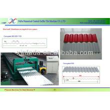 High Speed Steel Corrugated Iron Sheet Making Machine ---CE Stander