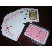 RFID que juega las tarjetas del póker