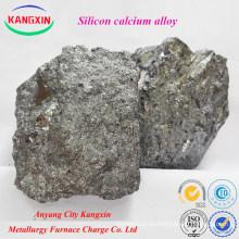 Anyang Manufacturer Ferro Calcio Silicio sica aleación para la fabricación de acero
