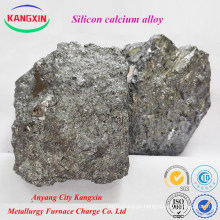 Liga sica de silicone de cálcio do fabricante de Anyang para a factura de aço