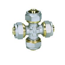 Ktm Cross (Hz8023) Pipe Fittings for Pex-Al-Pex Pipe, Aluminium Plastic Pipe, Hot Water and Cold Water Pipe