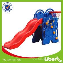 Kids Indoor Plastic Slide for Sale LE-HT005