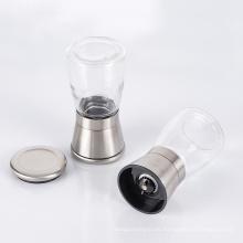 Molinillo manual de vidrio para molinillo de sal y pimienta negra