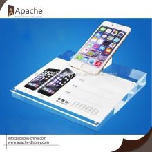 Acrylic cell phone anti-theft display holder