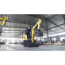 Free shipping 1 ton mini excavator