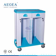 AG-CHT003 con filas dobles portaobjetos de hospital médico