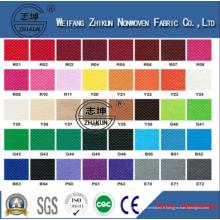 Coloré Coloré PP Eco-Friendly Tissu non-tissé pour panier d'achat