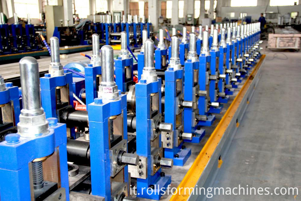 main machine of tube mill