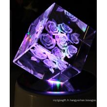 Photos faites sur commande élégantes de cristal de la catégorie K9 en Chine