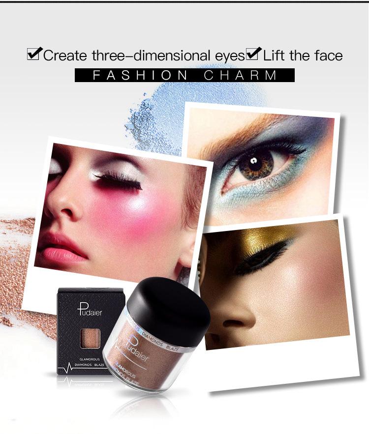 Eye Shadow And High Light Powder 2