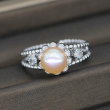 Fashion Women Design Freshwater Pearl Ring