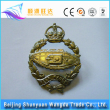 China Alibaba Supplier Best Price offer Custom Metal Die Casting Badge in Button