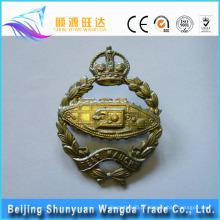 Bronze personalizado, latão, liga de zinco, material de crachá de alumínio para crachá de metal