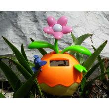 Couleur orange chanceux puissance solaire fleurs dansantes de haute qualité