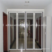 Space saving folding door