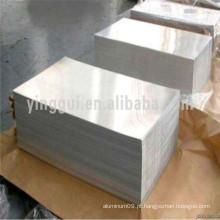 2011 folha de alumínio anodizado preto