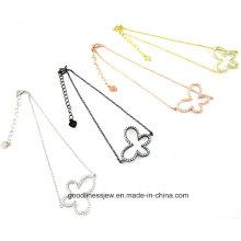 2015 Мода Серебряная бабочка Дизайн 925 Серебряный ювелирный браслет St3200