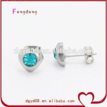 goujons d'earing design élégant en acier inoxydable