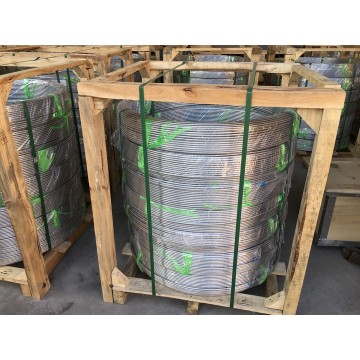 A789 UNS S31803 Super Duplex 2507 Oil Gas Stainless Pipe Coiled Tubing