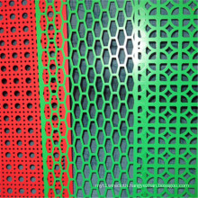 Coloured Powder Coated Perforated Metal