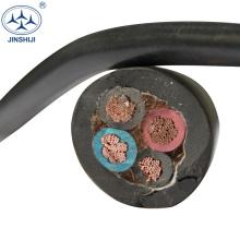 Manufacturer copper conductor h07rh-f rubber 4 core 16mm flexible cable h07rn-f 3g1.5