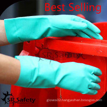 SRSAFETY chemical use gloves with best quality in china chemical gloves working gloves safety gloves gloves