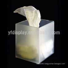 Customized acrylic tissue box