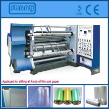 GFTW - 1200C Slitter Rewinder Maschine Schneidemaschine für alle Arten von Kunststoff Material roll