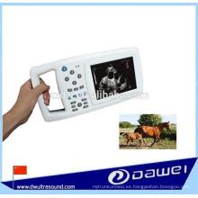 escáner de ultrasonido veterinario de mano y ultrasonido portátil para animales