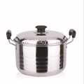16-30cm Kualitas Premium Single Layer Sauce Pot
