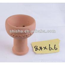 argila do cachimbo de água bacia shisha argila tigela nargile tigela
