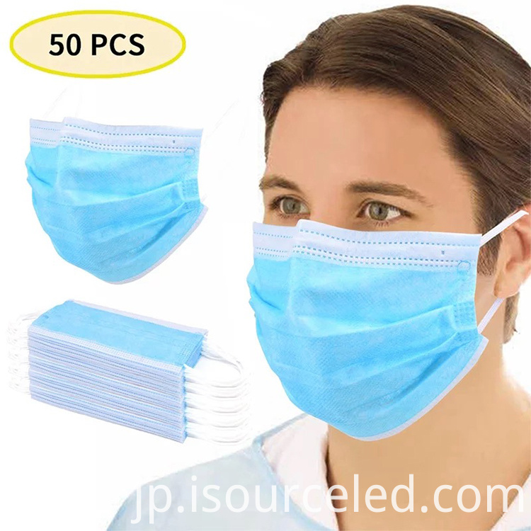3 ply non woven disposable face mask
