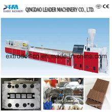 Máquina para fabricar cubiertas de PE WPC