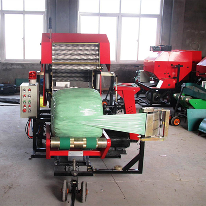 250mm wrap bale machine