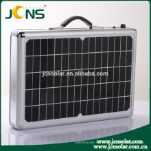 Caja solar portable del generador de la energía solar de la maleta 120W con el puerto del USB de la CC de la CA
