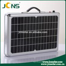 120W portable solar suitcase solar power generator box with AC DC USB port
