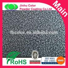 Rough finish epoxy polyester powder coating