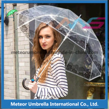 Nouvel élément parapluie en plastique Transparent Transparent pour Vente
