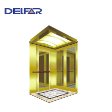 Safe Ti-Gold Passenger Elevator with Economic Price