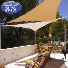 Vela de sombra de sol de plástico de diseño nuevo para techo y piscina con precio bajo