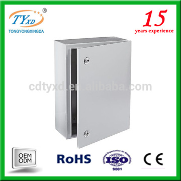 gabinete eléctrico al aire libre del OEM de encargo de la fabricación de la hoja de metal / recinto eléctrico del gabinete